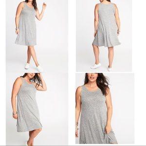 🎉HP🎉Old Navy PLUS Heather Gray Swing Dress 1X